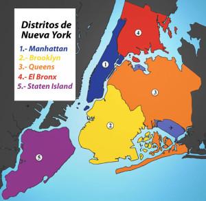 Gráfica de los condados