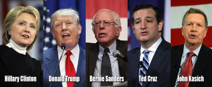 Foto de los candidatos