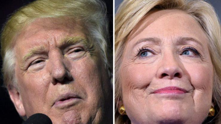 foto de Trump vs Hillary