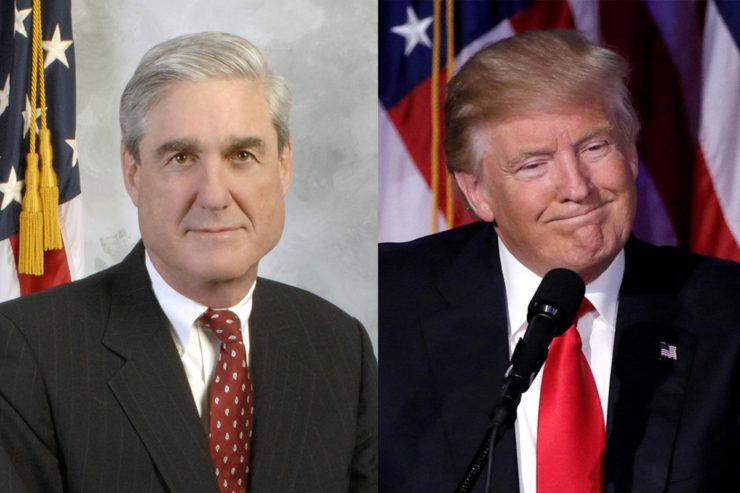 foto de Robert Mueller - Donald Trump