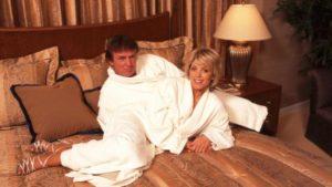 foto de Donald Trump y su segunda esposa, Marla Maples
