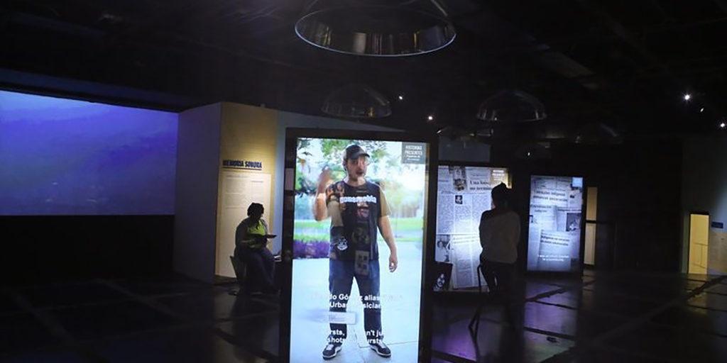 foto de la sala del museo