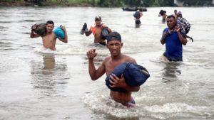 foto Migrantes de la Caravana