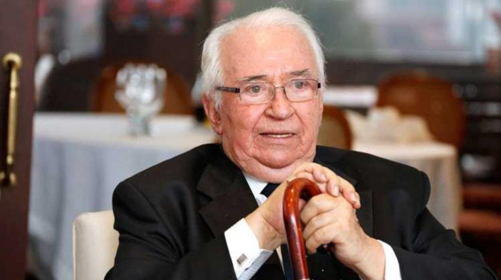 foto Belisario Betancurt expresidente de Colombia